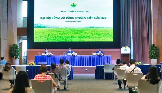 Đại Hội Đồng Cổ Đông Nông dược HAI năm 2021: đặt mục tiêu doanh thu 1.100 tỷ đồng, gấp đôi so với năm 2020