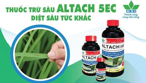 THUỐC TRỪ SÂU ALTACH 5EC - DIỆT SÂU TỨC KHẮC